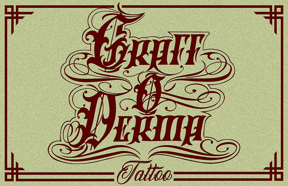 GRAFF O DERMA tattoo